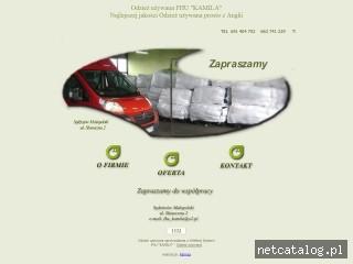 Zrzut ekranu strony www.odziezuzywana-anglia.rzeszow.pl