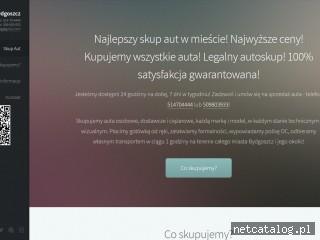 Zrzut ekranu strony autoskupbydgoszcz.com.pl
