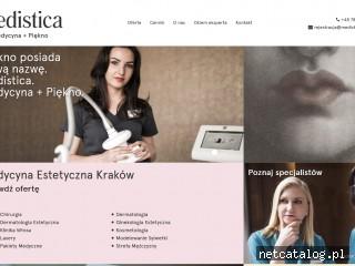 Zrzut ekranu strony medistica.com.pl
