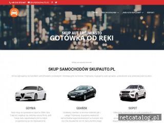 Zrzut ekranu strony skupauto.pl