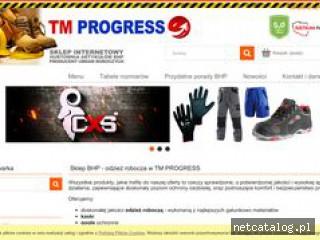 Zrzut ekranu strony tmbhp.pl