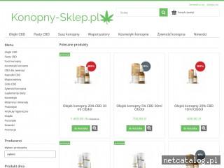 Zrzut ekranu strony konopny-sklep.pl
