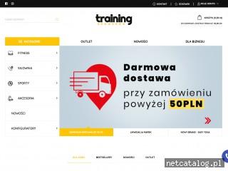 Zrzut ekranu strony trainingshowroom.com