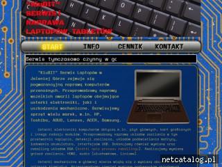 Zrzut ekranu strony www.kiubit.pl