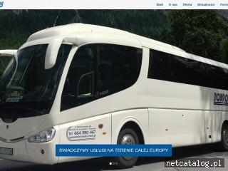 Zrzut ekranu strony bobrowski-trans.pl
