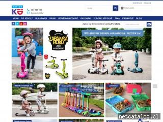 Zrzut ekranu strony www.activekid.pl