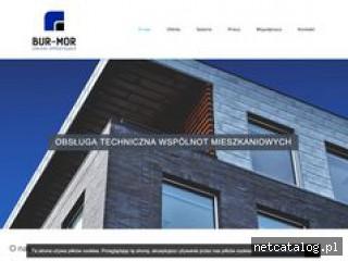 Zrzut ekranu strony www.burmor.pl