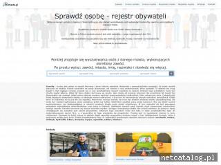 Zrzut ekranu strony z-miasta.pl