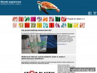 Zrzut ekranu strony papierowe.slomki.biz