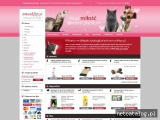 Zrzut ekranu strony www.emusklep.pl