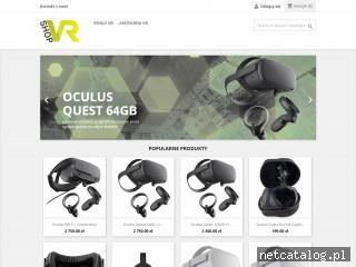 Zrzut ekranu strony shopvr.pl