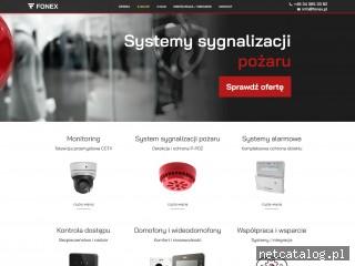 Zrzut ekranu strony fonex.com.pl