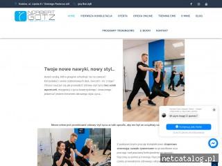 Zrzut ekranu strony www.norbertgotz.pl