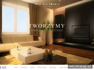 Zrzut ekranu strony newagedesign.eu