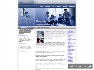 Zrzut ekranu strony www.podatkowe.waw.pl