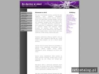 Zrzut ekranu strony www.darmoweonline.com