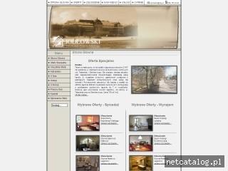 Zrzut ekranu strony www.npg.pl
