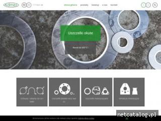 Zrzut ekranu strony www.admet.com.pl