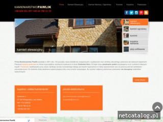 Zrzut ekranu strony piaskowce.com