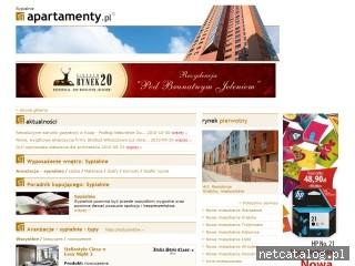 Zrzut ekranu strony www.sypialnie.apartamenty.pl