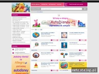 Zrzut ekranu strony www.autodisney.eu