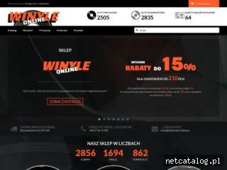 Zrzut ekranu strony winyle-online.pl
