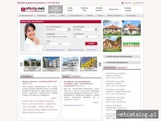 Zrzut ekranu strony www.oferty.net