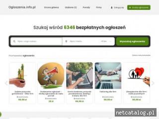 Zrzut ekranu strony ogloszenia.info.pl