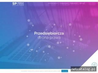 Zrzut ekranu strony sawaryn.com