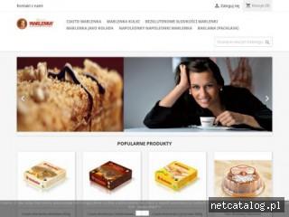 Zrzut ekranu strony marlenka.com.pl