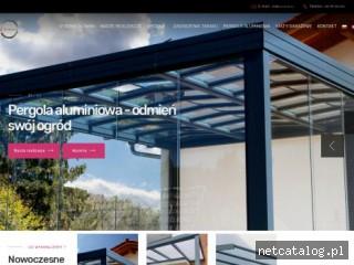 Zrzut ekranu strony www.mjmetal.eu