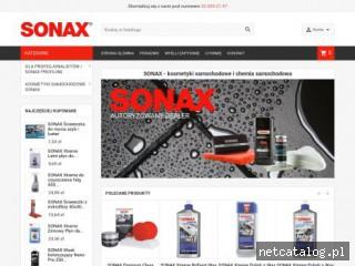 Zrzut ekranu strony sonax.katowice.pl