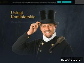 Zrzut ekranu strony kominiarzgdansk.com.pl