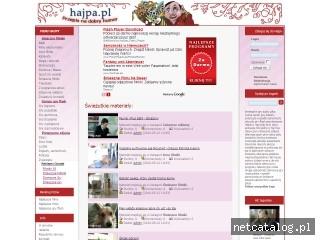 Zrzut ekranu strony www.hajpa.pl
