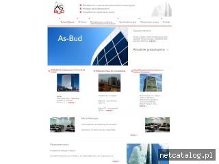 Zrzut ekranu strony www.as-bud.pl