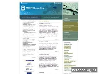 Zrzut ekranu strony www.master.top.pl