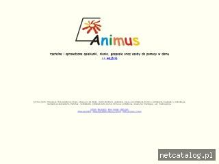 Zrzut ekranu strony www.animus-awg.pl