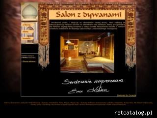 Zrzut ekranu strony www.dywany.waw.pl