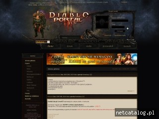Zrzut ekranu strony www.diablo3.biz.pl