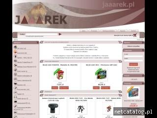 Zrzut ekranu strony jaaarek.pl