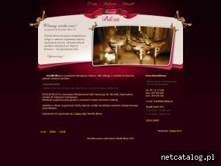 Zrzut ekranu strony www.hotelikbilcza.com