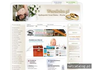 Zrzut ekranu strony www.weselicho.pl