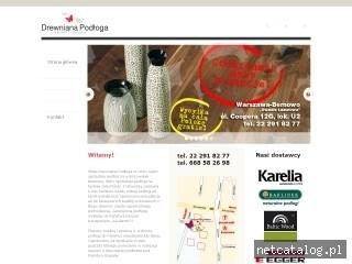 Zrzut ekranu strony www.balticwood.net