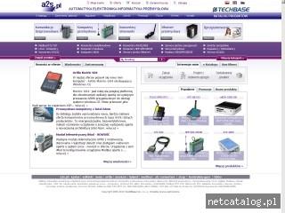Zrzut ekranu strony www.a2s.pl