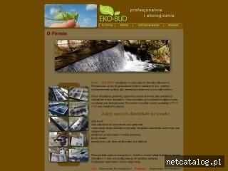 Zrzut ekranu strony www.szambaartbud.pl