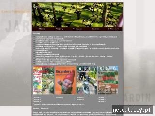 Zrzut ekranu strony www.jardin.pl