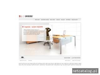 Zrzut ekranu strony www.aspekt.pl
