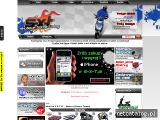 Zrzut ekranu strony www.sklep.s-x-t.pl