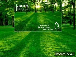Zrzut ekranu strony www.jaksbud.pl