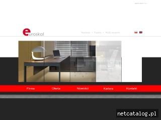 Zrzut ekranu strony www.euroskal.pl